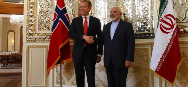 Foreign Minister Borge Brende in Iran