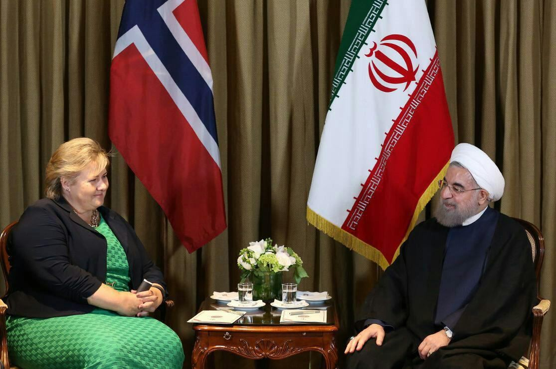 Hassan rouhani meeting